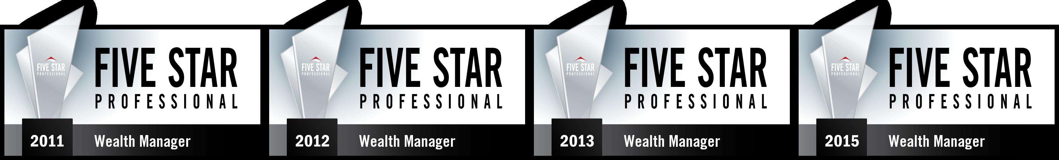 4x Five Star Wealth Manager Award Winner